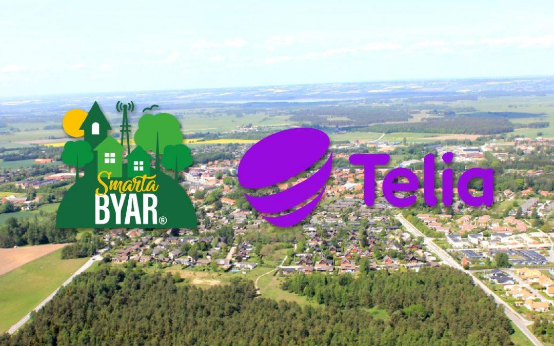 Veberöd satsar på ny teknik med Telia