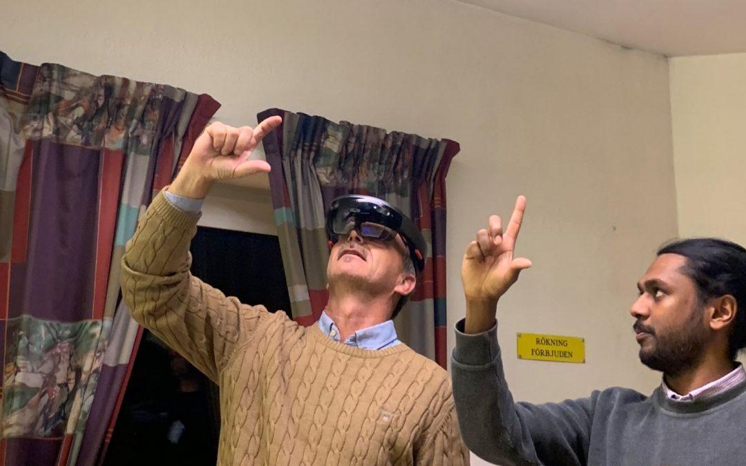 Skarpa skador virtuellt