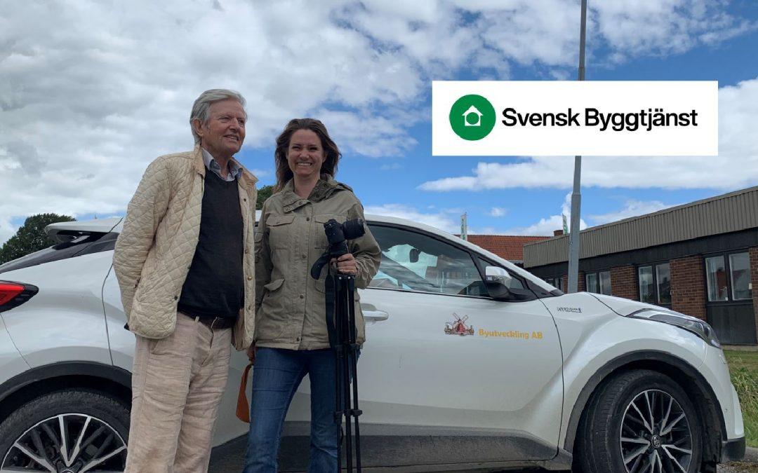 Svensk Byggtjänst på besök